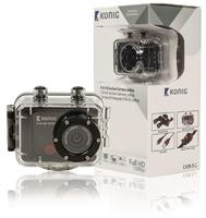 Full HD action camera 1080p waterproof