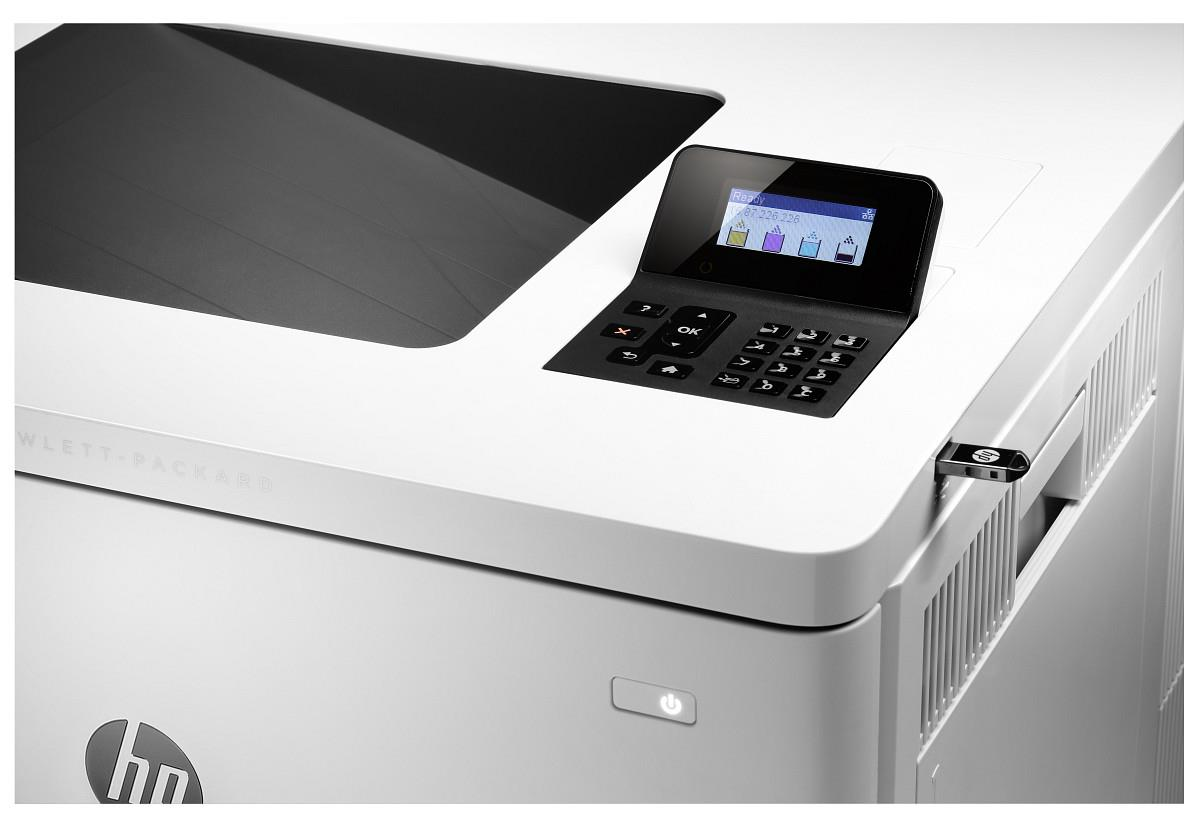 HP Color LaserJet Enterprise M553n laserprinter
